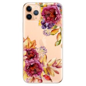 Odolné silikónové puzdro iSaprio - Fall Flowers - iPhone 11 Pro Max