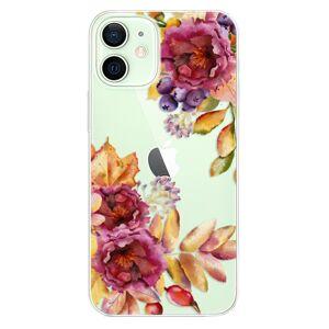 Odolné silikónové puzdro iSaprio - Fall Flowers - iPhone 12