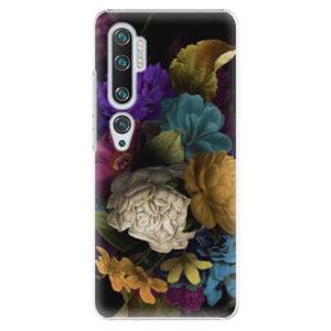 Plastové puzdro iSaprio - Dark Flowers - Xiaomi Mi Note 10 / Note 10 Pro