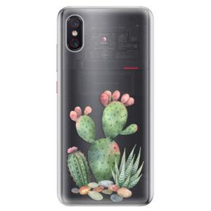 Odolné silikonové pouzdro iSaprio - Cacti 01 - Xiaomi Mi 8 Pro