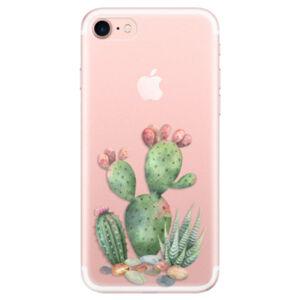 Odolné silikónové puzdro iSaprio - Cacti 01 - iPhone 7