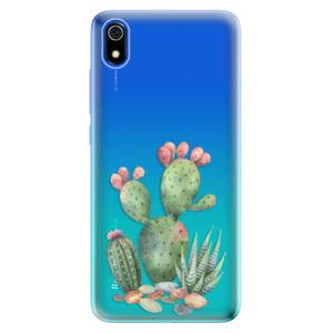 Odolné silikónové puzdro iSaprio - Cacti 01 - Xiaomi Redmi 7A