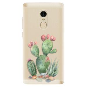 Odolné silikónové puzdro iSaprio - Cacti 01 - Xiaomi Redmi Note 4