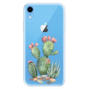 Odolné silikónové puzdro iSaprio - Cacti 01 - iPhone XR