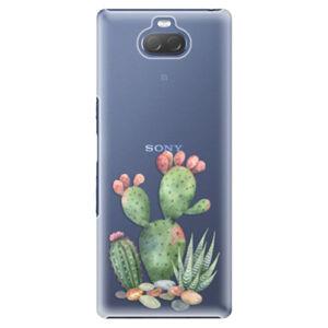 Plastové puzdro iSaprio - Cacti 01 - Sony Xperia 10 Plus