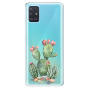 Odolné silikónové puzdro iSaprio - Cacti 01 - Samsung Galaxy A51