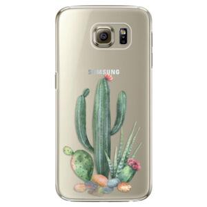 Plastové puzdro iSaprio - Cacti 02 - Samsung Galaxy S6