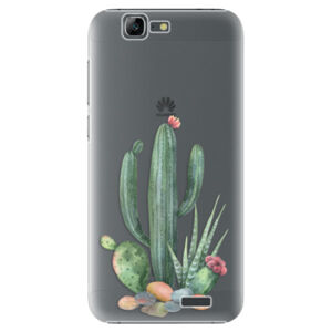Plastové puzdro iSaprio - Cacti 02 - Huawei Ascend G7