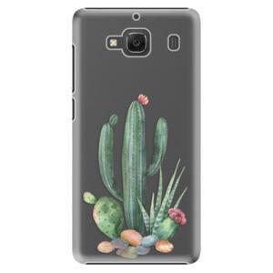 Plastové puzdro iSaprio - Cacti 02 - Xiaomi Redmi 2