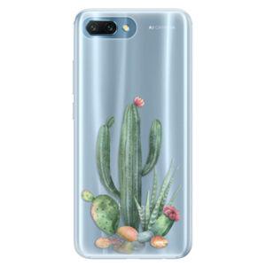 Silikónové puzdro iSaprio - Cacti 02 - Huawei Honor 10
