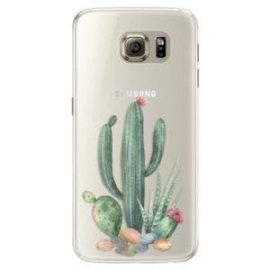 Silikónové puzdro iSaprio - Cacti 02 - Samsung Galaxy S6