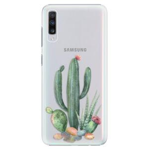 Plastové puzdro iSaprio - Cacti 02 - Samsung Galaxy A70