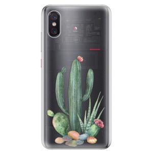 Odolné silikonové pouzdro iSaprio - Cacti 02 - Xiaomi Mi 8 Pro