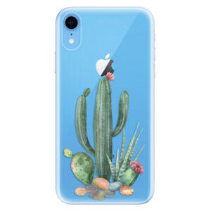 Odolné silikónové puzdro iSaprio - Cacti 02 - iPhone XR