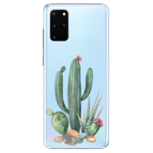 Plastové puzdro iSaprio - Cacti 02 - Samsung Galaxy S20+