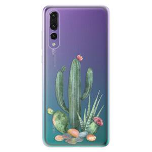 Odolné silikónové puzdro iSaprio - Cacti 02 - Huawei P20 Pro