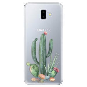 Odolné silikónové puzdro iSaprio - Cacti 02 - Samsung Galaxy J6+