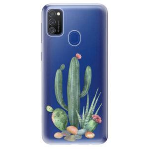 Odolné silikónové puzdro iSaprio - Cacti 02 - Samsung Galaxy M21