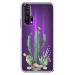 Odolné silikónové puzdro iSaprio - Cacti 02 - Honor 20 Pro