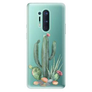 Odolné silikónové puzdro iSaprio - Cacti 02 - OnePlus 8 Pro