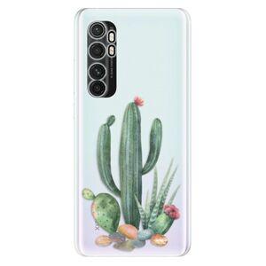Odolné silikónové puzdro iSaprio - Cacti 02 - Xiaomi Mi Note 10 Lite