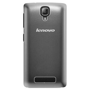 Plastové puzdro iSaprio - 4Pure - mléčný bez potisku - Lenovo A1000