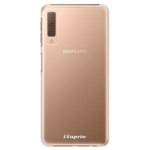 Plastové puzdro iSaprio - 4Pure - mléčný bez potisku - Samsung Galaxy A7 (2018)