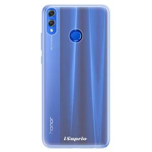 Silikónové puzdro iSaprio - 4Pure - mléčný bez potisku - Huawei Honor 8X