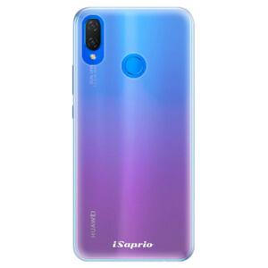 Silikónové puzdro iSaprio - 4Pure - mléčný bez potisku - Huawei Nova 3i