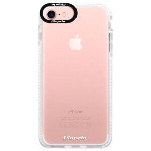 Silikónové púzdro Bumper iSaprio - 4Pure - mléčný bez potisku - iPhone 7