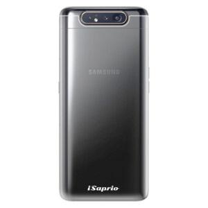 Odolné silikónové puzdro iSaprio – 4Pure – číre bez potlače – Samsung Galaxy A80