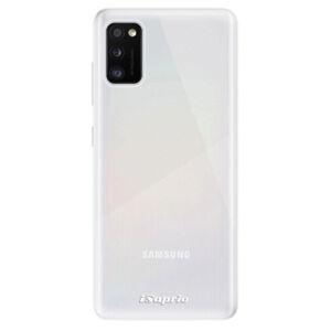 Odolné silikónové puzdro iSaprio - 4Pure - mléčný bez potisku - Samsung Galaxy A41