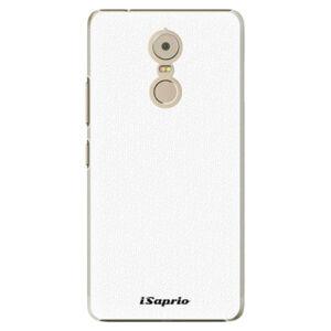 Plastové puzdro iSaprio - 4Pure - bílý - Lenovo K6 Note