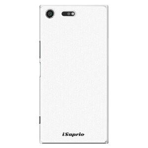 Plastové puzdro iSaprio - 4Pure - bílý - Sony Xperia XZ Premium