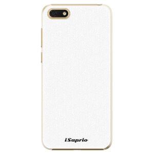 Plastové puzdro iSaprio - 4Pure - bílý - Huawei Honor 7S