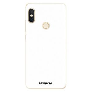 Silikónové puzdro iSaprio - 4Pure - bílý - Xiaomi Redmi Note 5