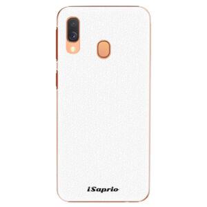 Plastové puzdro iSaprio - 4Pure - bílý - Samsung Galaxy A40