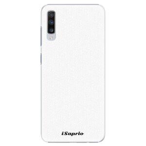 Plastové puzdro iSaprio - 4Pure - bílý - Samsung Galaxy A70