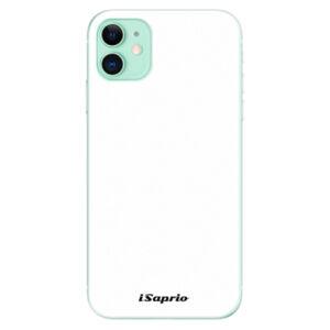 Odolné silikónové puzdro iSaprio - 4Pure - bílý - iPhone 11
