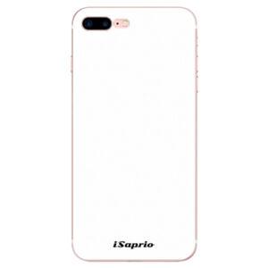 Odolné silikónové puzdro iSaprio - 4Pure - bílý - iPhone 7 Plus