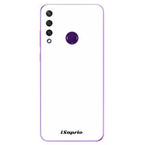 Odolné silikónové puzdro iSaprio - 4Pure - bílý - Huawei Y6p