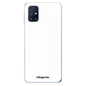 Odolné silikónové puzdro iSaprio - 4Pure - bílý - Samsung Galaxy M31s