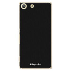 Plastové puzdro iSaprio - 4Pure - černý - Sony Xperia M5