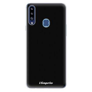 Odolné silikónové puzdro iSaprio - 4Pure - černý - Samsung Galaxy A20s
