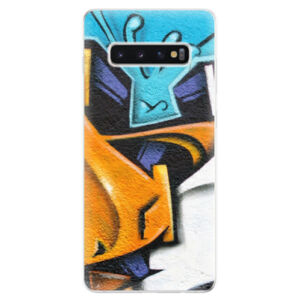 Odolné silikonové pouzdro iSaprio - Graffiti - Samsung Galaxy S10+