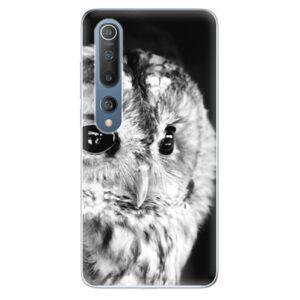 Odolné silikónové puzdro iSaprio - BW Owl - Xiaomi Mi 10 / Mi 10 Pro