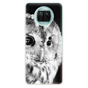Odolné silikónové puzdro iSaprio - BW Owl - Xiaomi Mi 10T Lite