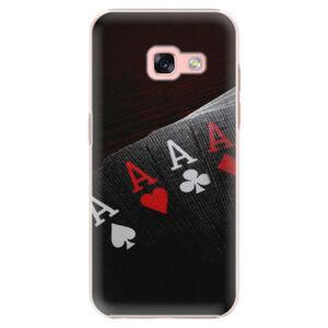 Plastové puzdro iSaprio - Poker - Samsung Galaxy A3 2017
