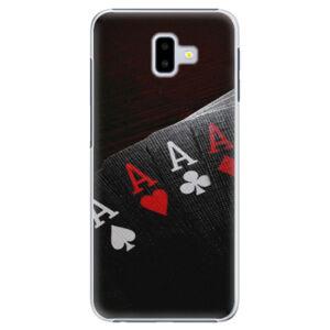 Plastové puzdro iSaprio - Poker - Samsung Galaxy J6+