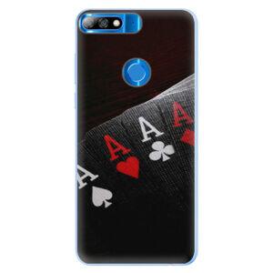 Silikónové puzdro iSaprio - Poker - Huawei Y7 Prime 2018